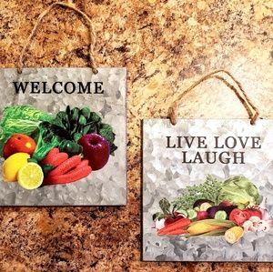 🎈🎈Set of 2 Wall Hangings For Kitchen 🎈🎈